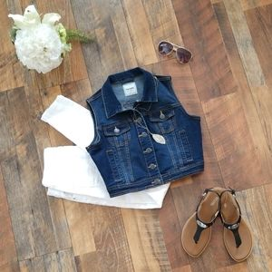 Miss Selfie Denim Vest